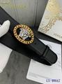 versace belts men waist medusa head buckle gold silver