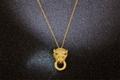 Cartier Leve 2 DIAMONDS LOVE NECKLACE rose gold necklace