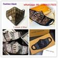 LV monogram masks face mask dust prevent masks