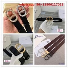 Top quality belts waiste raps women belts Christian Dior belts  diamond buckle