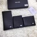 prada wallet  pebbled calf leather  prada daino wallet card holder cashier purse