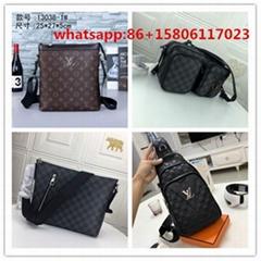 men bag leather cross body bag               laptop bag chest bag monogram (Hot Product - 32*)