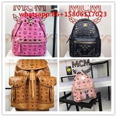 NEW Style rivet bag MCM Backpack Stud Backpack MCM Backpack women's BAGS