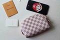 Louis Vuitton Cosmetic Pouch Makeup Bag lv wallet