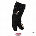 Men AAPE long pants  bape  shark pants print bathing bape pant