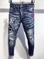 DSQ men pants Dsquared jeans casual trousers fashion diesel pant  DSQ men jeans