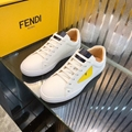 mens causual shoes fendi loafers  Man fendi sneakers lace up shoes