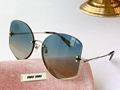 Fashion Miu Miu Glitter Sunglasses Women cheap eyewears
