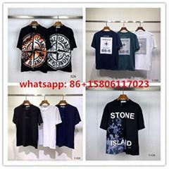 stone island t shirt men shirts  t hirts  logo printed M-3XL
