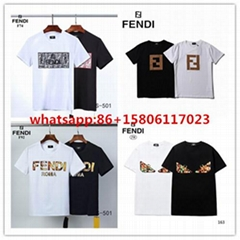 Top fendi  t shirt men shirt  fendi shirt shirts short sleeves fendi tees