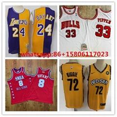 NBA      jersey Los Angeles Lakers Mens NBA Retro shirt  stitched Jersey