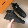LV mens sneakers shoes LV  loafers Louis Vuitton Man high cuts boots angkle boot