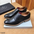 top prada shoes monolith patent leather  footwear business shoes men loafer
