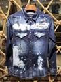 wholesale  LEVIS cowboy wear  men's blue jeans  Levis coat 3