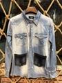 wholesale  LEVIS cowboy wear  men's blue jeans  Levis coat 4