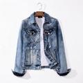 wholesale  LEVIS cowboy wear  men's blue jeans  Levis coat 2