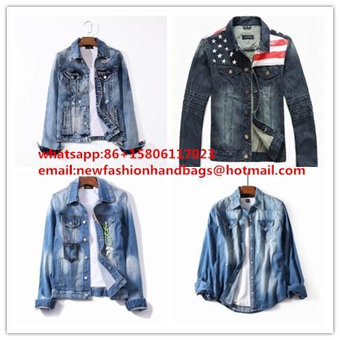 wholesale  LEVIS cowboy wear  men's blue jeans  Levis coat 1