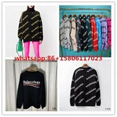 Balenciga Sweaters S-2XL balenciga women sweater turtleneck sweaters
