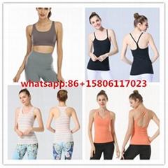 Lululemon vest yoga shirt lululenmon bra women tops
