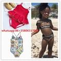 burberry Bikini kid bikini  girl tendy bikini top  swimsuit  kid beach wear