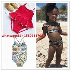 Bikini kid bikini  girl tendy bikini top  swimsuit  kid beach wear