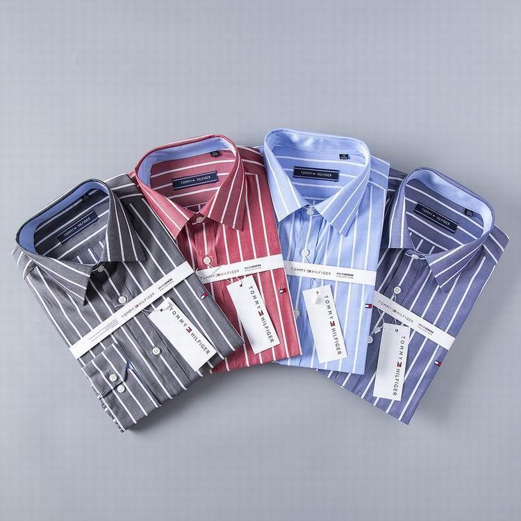 men dress shirt Tommy long sleeves shirt shirts tommy t shirts  8