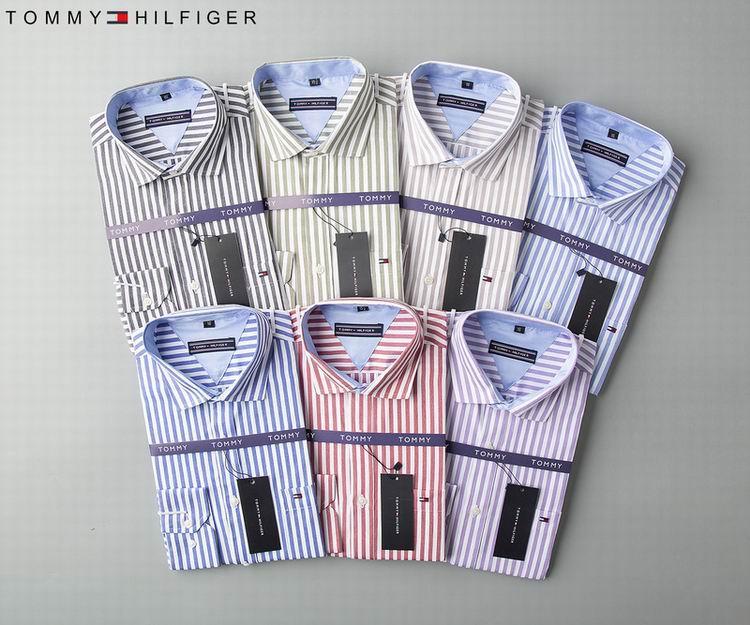 men dress shirt Tommy long sleeves shirt shirts tommy t shirts  9