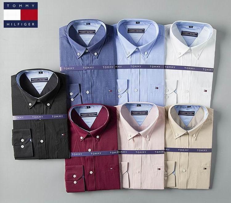 men dress shirt Tommy long sleeves shirt shirts tommy t shirts  10