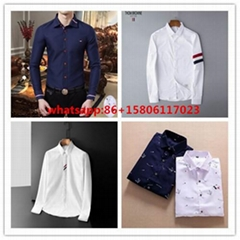 thom browne shirts slim fit dress shirt trimmed cotton oxford shirt men shirts