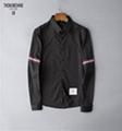 thom browne shirts slim fit dress shirt trimmed cotton oxford shirt men shirts 3