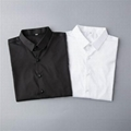thom browne shirts slim fit dress shirt trimmed cotton oxford shirt men shirts 6