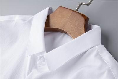 thom browne shirts slim fit dress shirt trimmed cotton oxford shirt men shirts 7