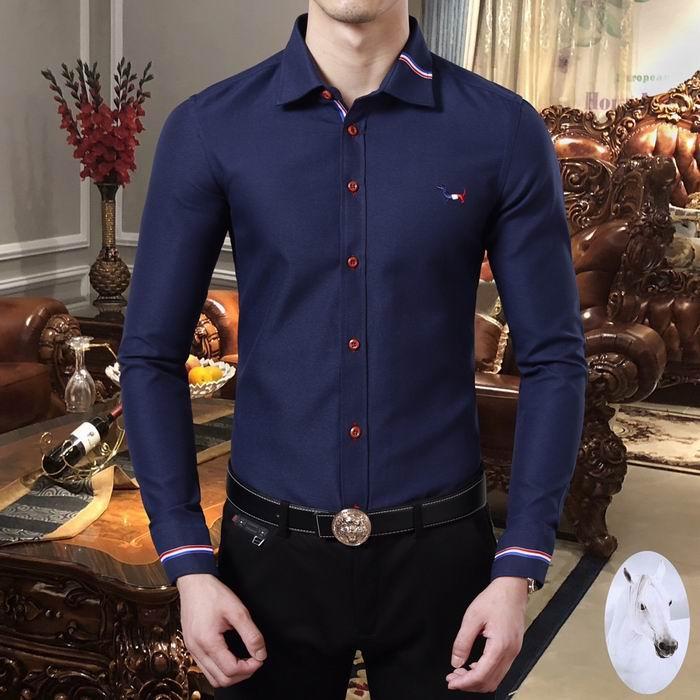 thom browne shirts slim fit dress shirt trimmed cotton oxford shirt men shirts 17