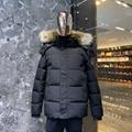 canada goose hybridge knit jacket knitwear  men's outwear   parka down jacket