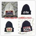 DSQ cotton cap-chong Dsq icon hats Knitted hat Beanie wool winter Cap 1