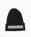 DSQ cotton cap-chong Dsq icon hats Knitted hat Beanie wool winter Cap 16