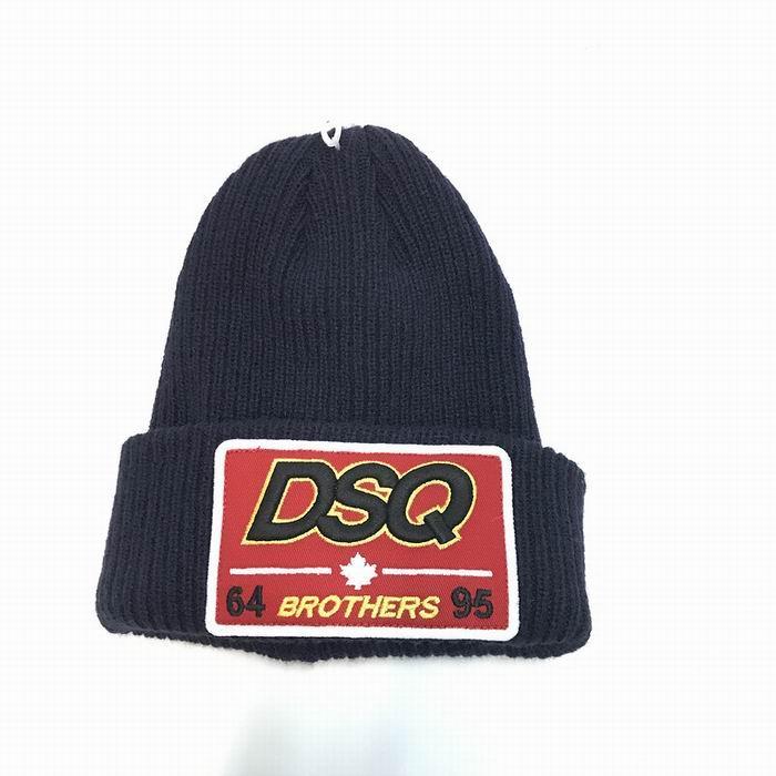 DSQ cotton cap-chong Dsq icon hats Knitted hat Beanie wool winter Cap 19