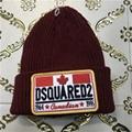 DSQ cotton cap-chong Dsq icon hats Knitted hat Beanie wool winter Cap 20