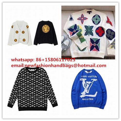 mens sweater    wolly    swesters wollen Monogram hoodies 1