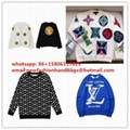 Louis Vuitton mens sweater LV wolly LV swesters wollen Monogram hoodies