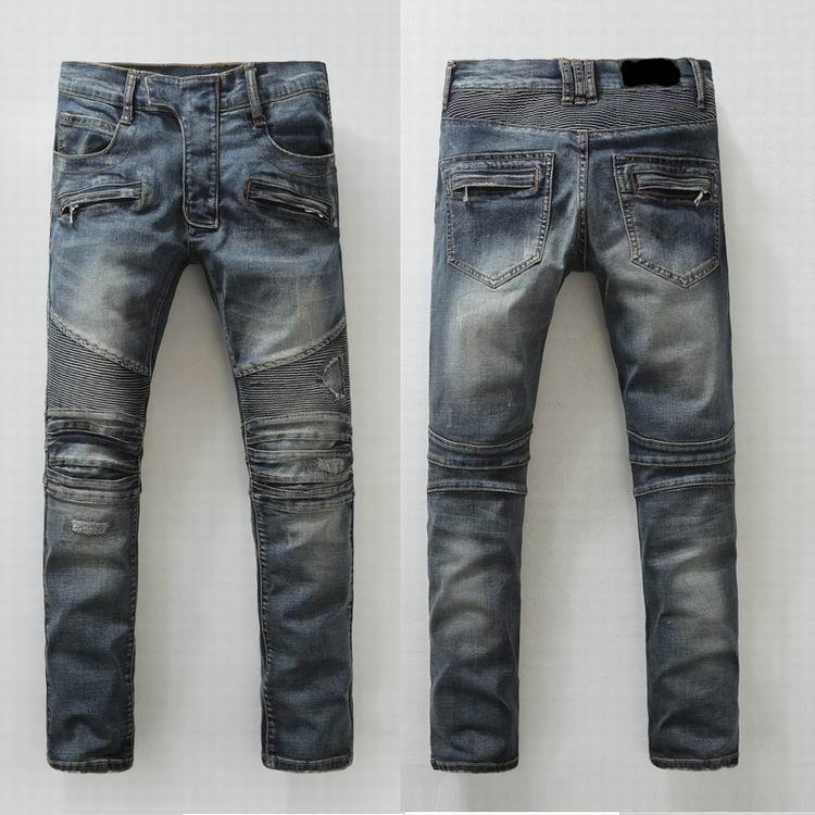 Balmain jeans denim women jeans skinny fit  balmain jeans men pants 9