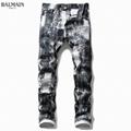 Balmain jeans denim women jeans skinny fit  balmain jeans men pants 18