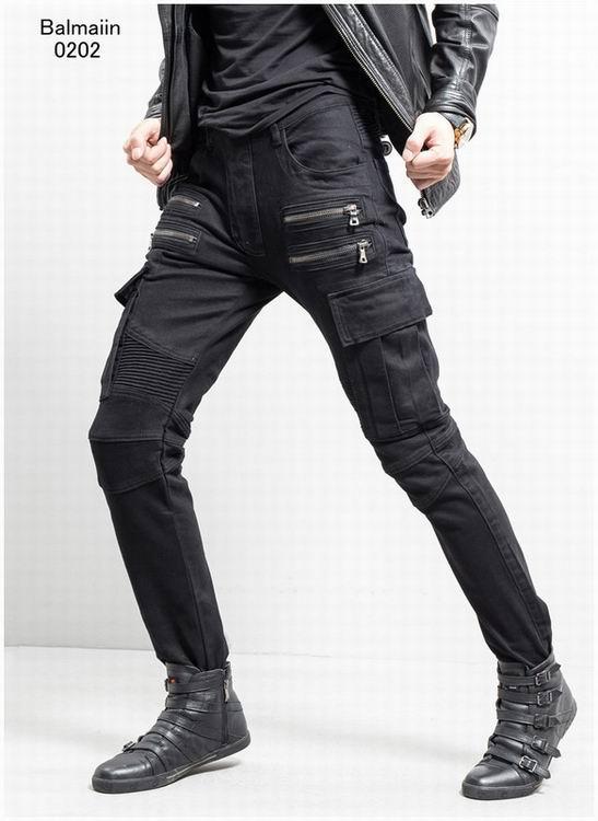 Balmain jeans denim women jeans skinny fit  balmain jeans men pants 20