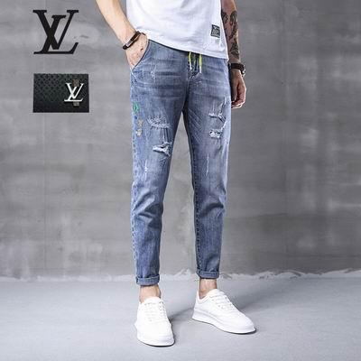 jeans denim men jeans slim fit     jeans men pants 2