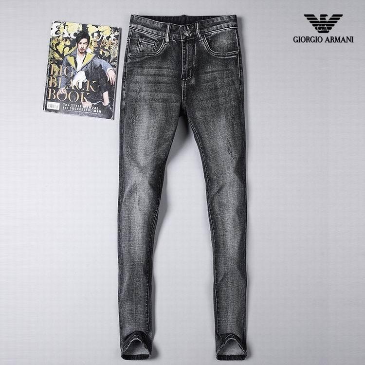 jeans denim men jeans slim fit     jeans men pants 5