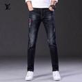 jeans denim men jeans slim fit     jeans men pants 6