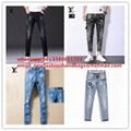 1:1 HI Quality jeans men   pants LV pants louis vuitton jeans