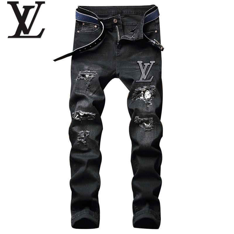 jeans denim men jeans slim fit     jeans men pants 9