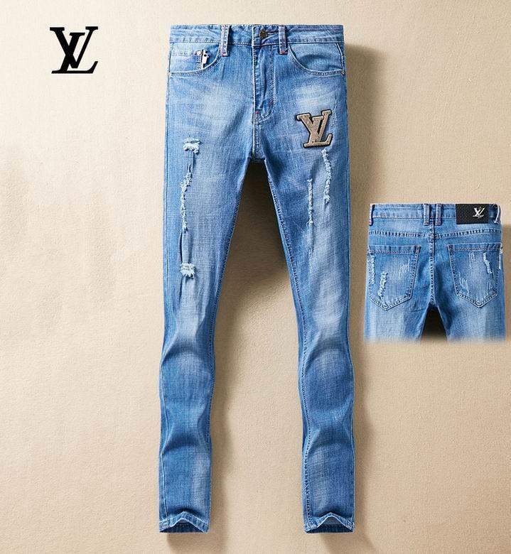 jeans denim men jeans slim fit     jeans men pants 12