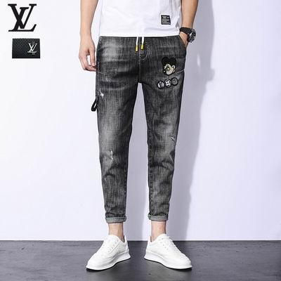 jeans denim men jeans slim fit     jeans men pants 13